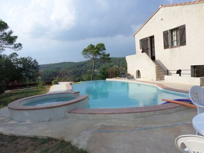 Photo for Thistle, bed and breakfast, surrounded by nature, infinity swimming pool with salt, wifi