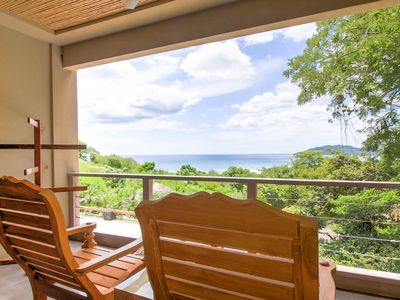 Photo for 3 Bedroom Ocean View Dream Villa -5 minutes walk to the beach!