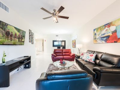 Photo for Modern Bargains - Storey Lake Resort - Beautiful Cozy 3 Beds 2 Baths Townhome - 5 Miles To Disney