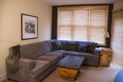 Brand new sectional. Comfortable and spacious.