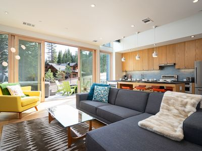 Photo for True ski-in, ski-out condo with private deck and hot tub