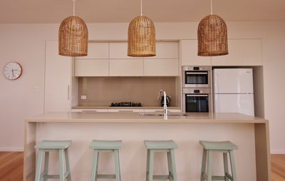 Clean and functional kitchen