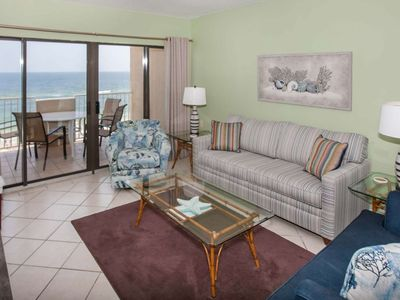 Gulf-front 5th floor | Outdoor pool, Wifi, BBQ, Fitness | Free golf, fishing, dolphin cruise, OWA