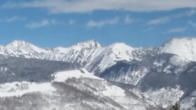 Photo for Beautiful view of vail mountain from your private balcony.