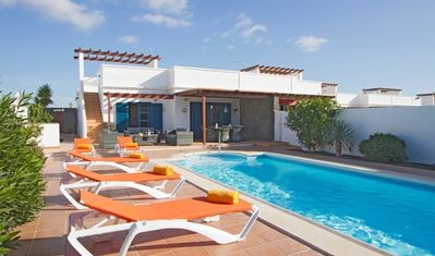 Photo for Lovely 3 bed, 2 bath villa with outdoor pool table 20 mins from the beach, Free WIFI - Casa Charwil