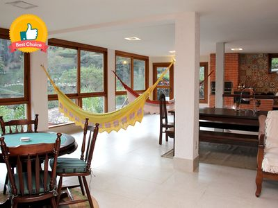 Photo for All in Rio- Petrópolis Gourmet and Day Care Area - Condominium with Structure
