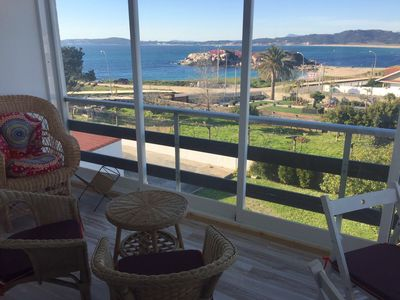 Photo for Apartment with stunning views and completely renovated in Sanxenxo
