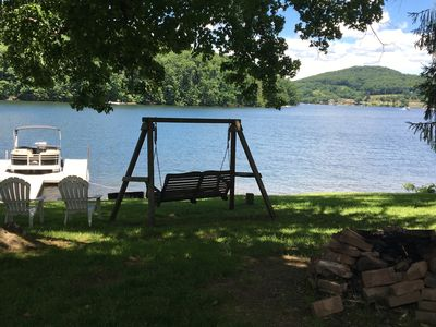 Photo for Lake Front 4 Bedroom Home With A Dock Centrally Located 5 Minutes To Wisp & Unos