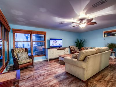 Photo for Gorgeous Beach Casa with Private Hot Tub, Fire Pit and Amazing Deck! Pet Friendly!