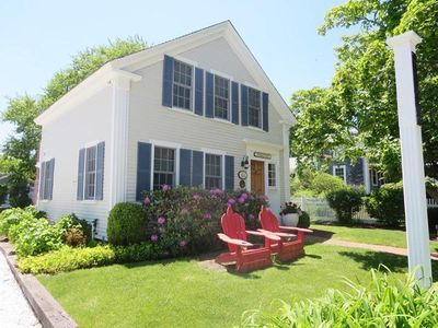 Photo for Steps from Chatham Center - short walk to Lighthouse Beach - updated home with central AC