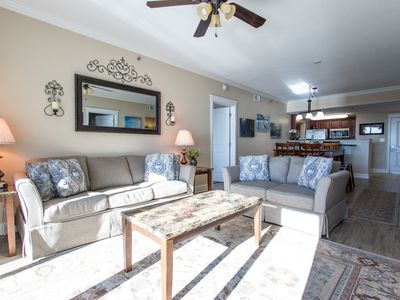 Photo for Rise Above It All! Waterscape A612 Gorgeous Gulf & Courtyard Views