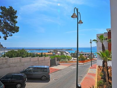"""Photo for Apartment a short walk away (273 m) from the """"Playa La Grava"""" in Xàbia with Parking, Washing machine, Air conditioning, Pool (105921)"""