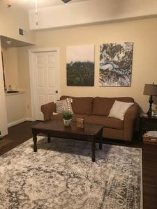 One side of living room