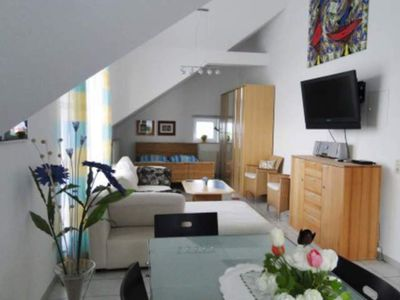 Photo for Studio apartment 45sqm, 1 living room / bedroom, max. 4 persons - Apartment Steinhof-Littmann