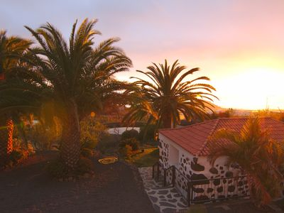 Photo for cozy Canarian country house overlooking the sea, sunset and stars