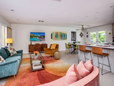 Photo for Beautiful Pool & Spa Home in Central PS+Walk to Downtown - The Desert Modern