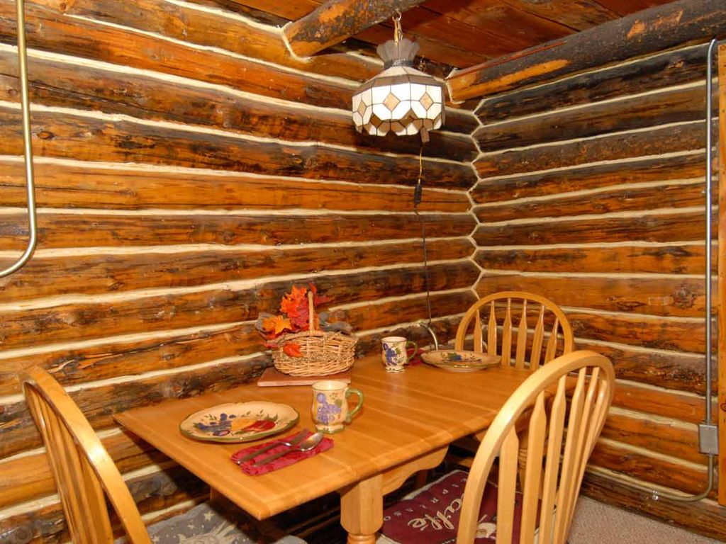 Original Hand Hewn Old World Log Cabin Construction