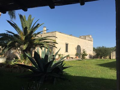 Photo for Large, well-established family friendly Masseria with beautiful garden and pool
