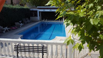 Photo for Detached villa with private pool, barbecue and WIFI