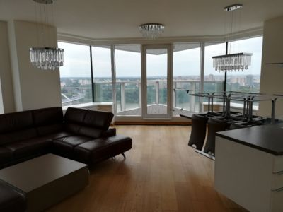 Photo for Modern flat with a panoramic view on Bratislava + parking