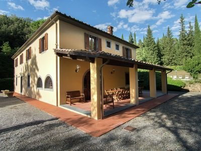 Photo for A beautiful Tuscan farmhouse and a large swimming pool and relaxing
