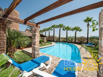 Photo for Beautiful and Authentic Majorcan Finca with Private Pool and Tennis Court!