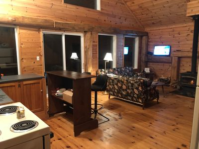 Photo for Superior Waterfront Cedar Shake Loft Chalet