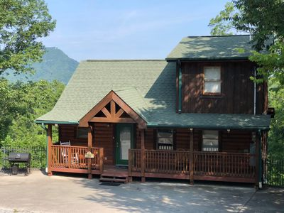Photo for Pigeon Forge, Amazing Mountain View, Great Location, Pool Table, Hot Tub,Arcade.