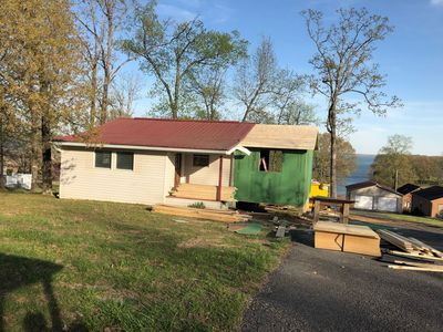 Photo for NEWLY REMODELED! Paved access to lake, private boat dock w/ deep water!