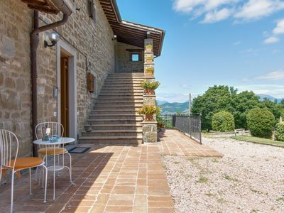 Photo for Scenic Holiday Home in Gubbio with Pool