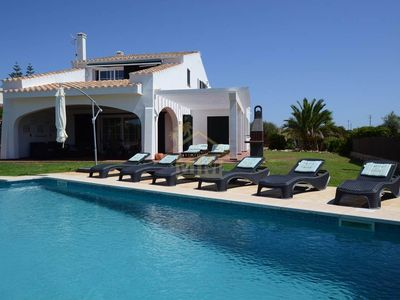 Photo for Luxurious Villa for 10 people in Menorca, with pool and sea view