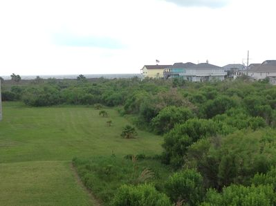 Ocean View from back porch