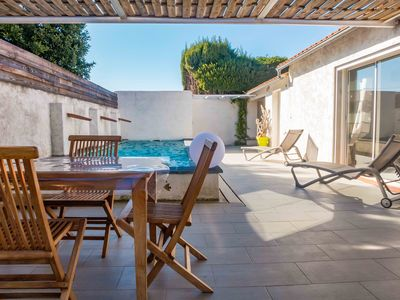 Photo for SPECIAL OFFER Comfortable home classified 4* 2 people spa pool near Narbonne