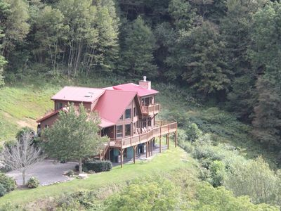 Photo for Beautiful Mountain Home w/ Incredible Views - 106 Acres, Hot Tub, Total Privacy