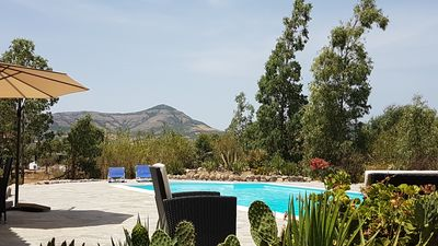 Photo for Rural villa with swimming pool, in the south of Sardinia
