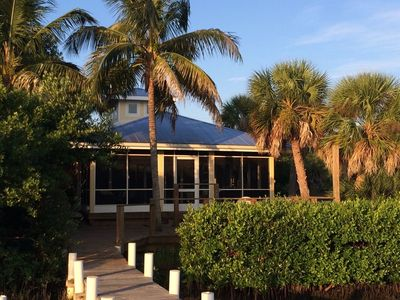 "The ""Boat House"".  Oozing ""Old Florida"" charm, right on the water!"