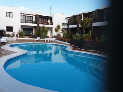 Photo for 2 Bedroom Apartment With Private Pool Set In Canarian Gardens