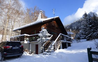 Photo for Chalet in the heart of nature, at the foot of the famous Dent d'Oche