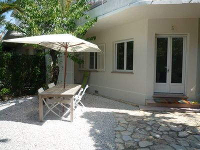 Photo for Charming apartment/ flat with garden - Antibes