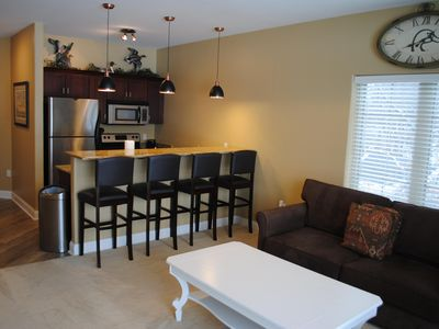 Photo for #430 Lakefront Condo - Beautiful Views - Fireplace - Free Passes to Noah's Ark