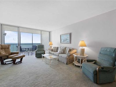 Photo for Sun Caper 807, 2 Bedrooms, Gulf Front, Elevator, Sleeps 6, Heated Pool