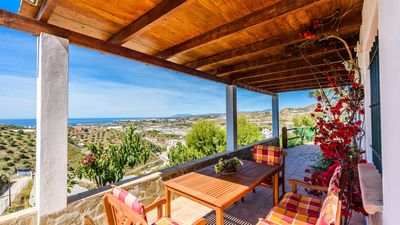 Photo for Modern villa with stunning views and chill-out area