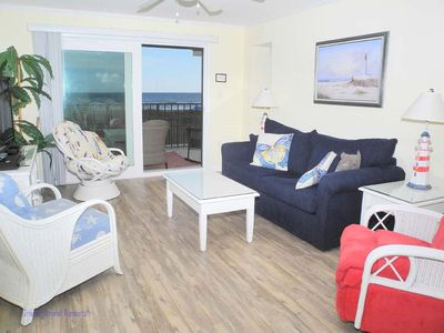 Photo for Tidemaster 105! Oceanfront 3 Bedroom! Book now for best rates!