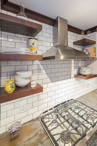Vented range hood for cooking
