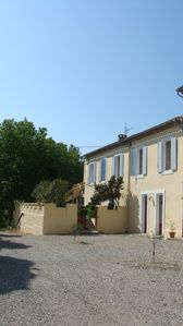 Photo for Domaine de la Petite Tour- 2 Gites for 4 to 10 people- swimming-12km Carcassonne