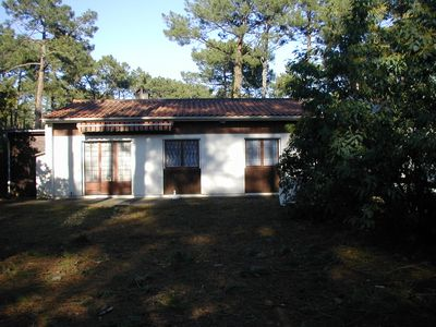 Photo for Pleasant semi-detached house of type 4 located in the pine forest in the middle of the pines