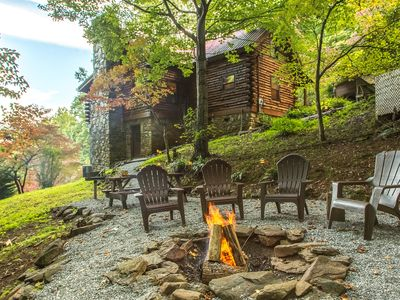 Photo for Log Cabin, Amazing Views & Fire Pit