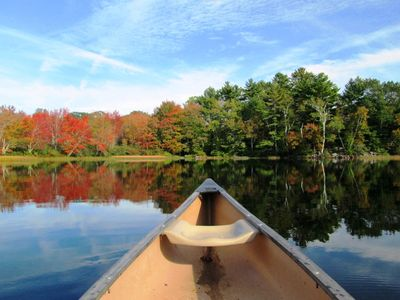 View from the Canoe.