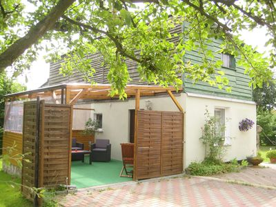 Photo for Studio with covered terrace and barbecue