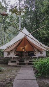 Photo for A Garden View Tent for Couple, Feel the Nature of Bali!